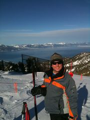 Black Bart house photo - Look at the Amazing view of Lake Tahoe from the top of Heavenly Ski Resort.