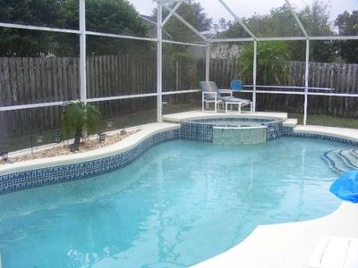 New Pool and Spa, Fenced Yard for privacy