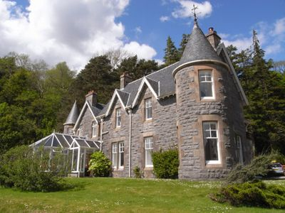 Onich chateau / country house rental - Ardrhu House, Onich, Fort William