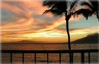 Sunset in paradise from the privacy of your own lanai!