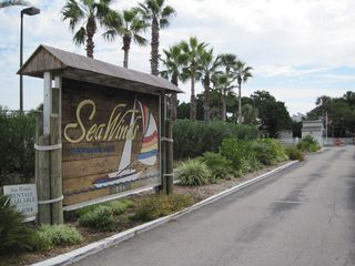 St. Augustine Beach townhome photo - Sea Winds Entrance