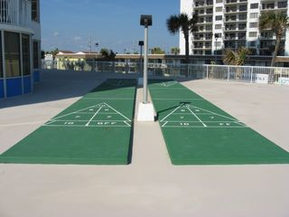 Daytona Beach condo photo - Shuffleboard Court on Pool Deck