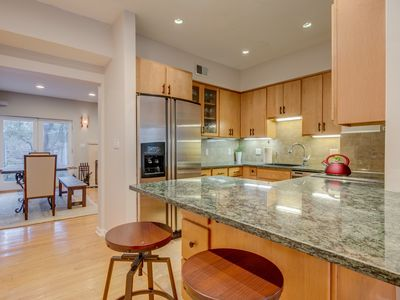Spacious Home with patio and parking -- walk to Convention Center