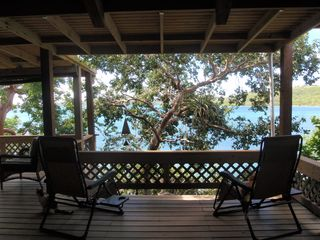 Culebra cottage photo - View from balcony / deck facing the ocean