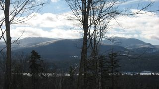 'Green Mountains' East viewed from deck - Stowe house vacation rental photo