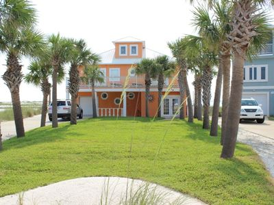 Cabana del Sol directly on the Intracoastal Waterway on Navarre Beach, Florida