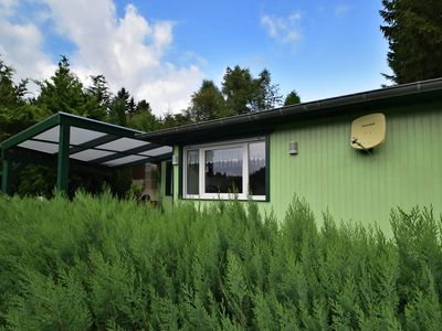 Detached holiday home with terrace next to the forest in the idyllic Harz