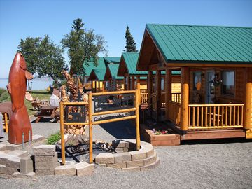 Clam Gulch cabin rental - Cabins on the Bluff