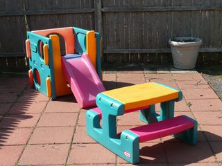 Yarmouth house photo - Little Tikes - Toddler Picnic Table & Play Structure