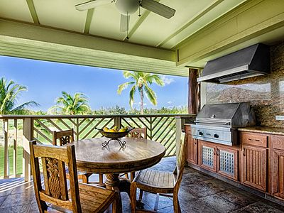 Waikoloa Beach Resort condo rental - Enjoy Your Morning Coffee and the View from Your Beautiful Lanai