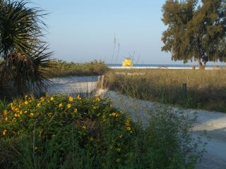 Siesta Key condo photo - The walkway to Siesta Key Beach!