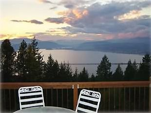 Sandpoint house rental - Lake Pend Oreille Sunset
