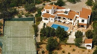 Hillside Villa With Pool Tennis Court Extensive Garden Sea Views daily maid