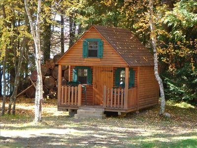 The kids will enjoy the 8X14' playhouse with a sleeping loft, playroom and porch