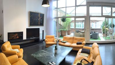 Large duplex loft 200m2 5 stars in the historical center of Amiens