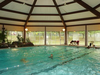 Indoor pool in the community.