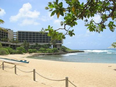 Beach at Turtle Bay Resort