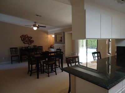 Palm Springs house rental - Dinning Room / Kitchen