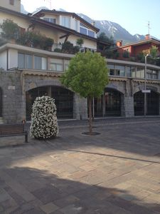 Apartment in the center of Malcesine, with terrace and lake view