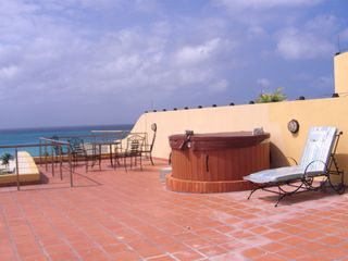 Aruba condo photo - Roof Top Terrace w/ beautiful oceanview