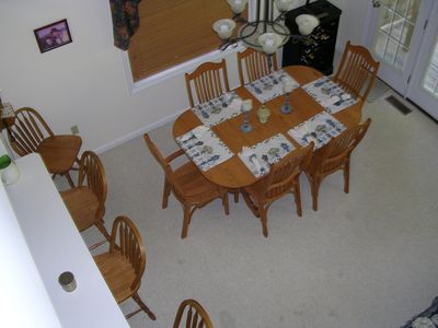 Dining Room from Loft