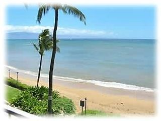 Kahana condo photo - Ocean-front views of island of Lanai