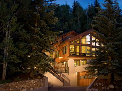 Gore Creek Lodge is located in West Vail, directly on the free Town of Vail bus