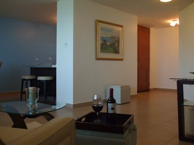 Aguadilla condo rental - Spacious Living Room...Direct Access to Ramp and Parking