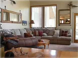 Great room with New Queen Sofa Sleeper and 2 reclining chairs