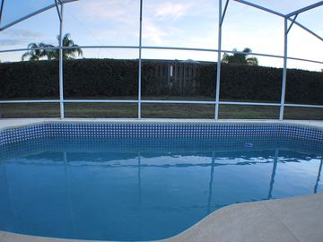 Large Private South-facing Pool