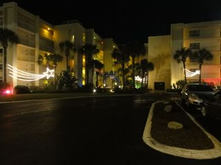 New Smyrna Beach condo photo - Holiday lights