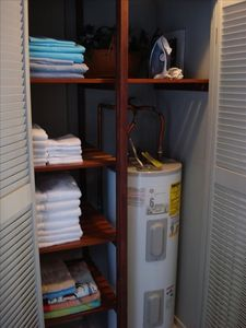Clean and Well Stocked Linen Closet-Another Extra Perk for Being our Guest