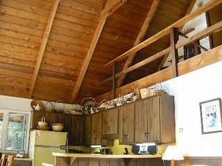 Belleayre Mountain chalet photo - Cathedral-style great room, kitchen and loft areas create warmth and spaciousnes