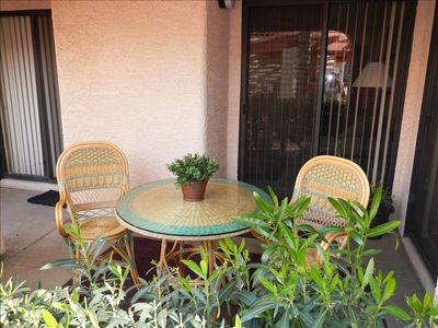 Scottsdale Ranch condo rental - Back Patio