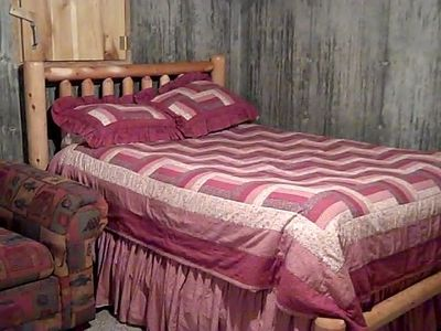 French Lick cabin rental - Queen Bed in Dorm Area