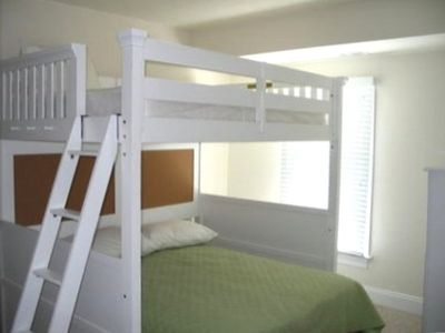 Bedroom #2 - Double Bunk Beds