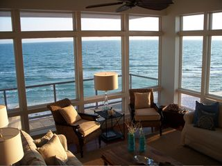 Inlet Beach house photo - View from Family room. Unobstructed views from all angles. So close to water