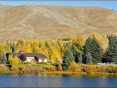 Sun Valley house rental - Incredible Lakeside Retreat