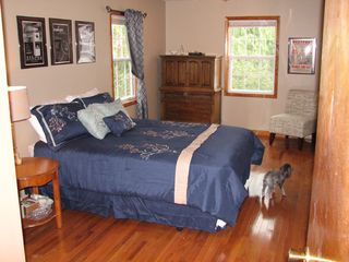 Asheville house photo - Master bedroom suite with queen bed