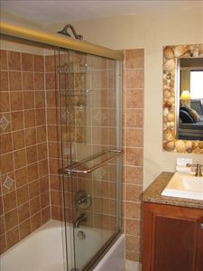 Ponce Inlet condo rental - Newly renovated Master Bath