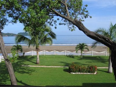 Playa Flamingo condo rental - Amazing ocean view in our front yard as seen from the living room and balcony