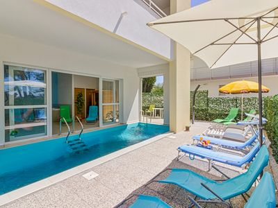 Fabulous seaside apartments with a heated pool and jacuzzi, family frendly - Unit A2