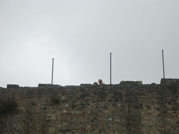 Castle wall of Obidos
