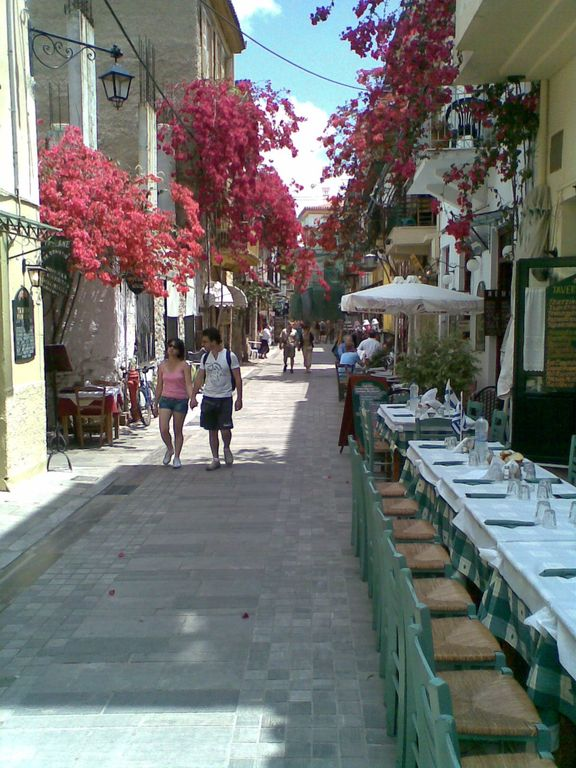 Old Nafplion beautiful traffic free streets