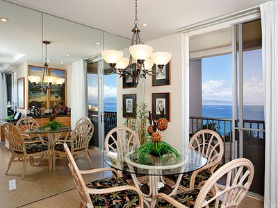 Dining Room with great ocean view