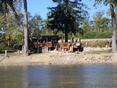 Romantic Riverfront Cabins, Family Cabins and Campsites