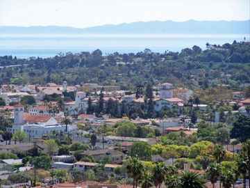 Santa Barbara house rental - View and picture taken from home