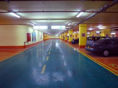 Tel Aviv apartment rental - Private underground parking.