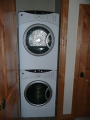 Deer Valley townhome photo - Full-sized washer/dryer