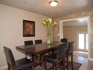 Salt Lake City house photo - TOTAL DINING FOR 17 (UPSTAIRS KITCHEN - 2 TBLS & BAR)
